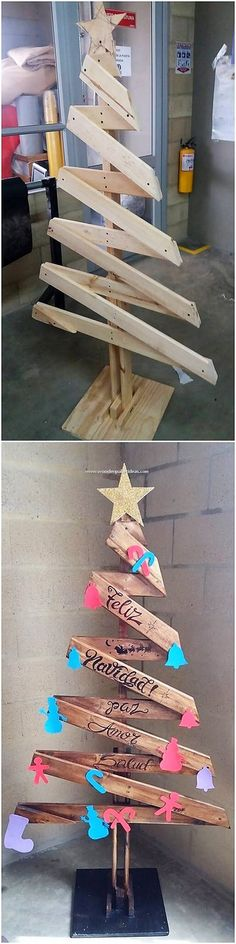 You can put together the brilliant use of the pallet in the outstanding creation of the pallet Christmas tree designing as well. This does look unique and gives out a different look wherever you will be locating it in your house. You can simply add attractiveness in your living room with it.