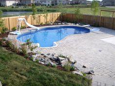 The Odyssee Shape Inground Swimming Pool
