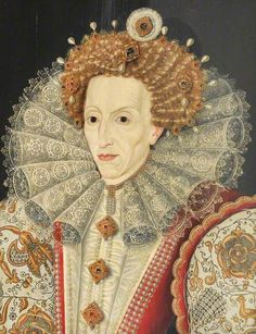 Elizabeth I (1533–1603) * 1500 free paper dolls for girls at Arielle Gabriel's International Paper Doll Society and travel stories for women at The China Adventures of Arielle Gabriel *