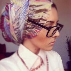 Geek Chic turban