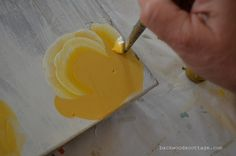 how to paint a rose... really cool and clear