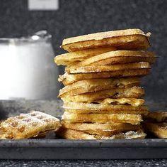 essential raised waffles