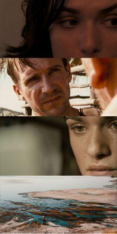 Rachel Weisz & Ralph Fiennes in The Constant Gardener (2005) by Fernando Meirelles. Courage.
