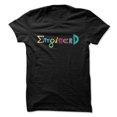Make this awesome proud Engineer: Enginerd Great Funny Engineering Design as a great gift Shirts T-Shirts for Engineeres