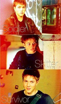 """Ben Mason:  Soldier, Skitter, Survivor ~ Ben is just awesome, """"Best Skitter EVER"""""""