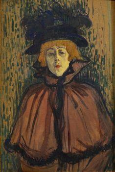 Jane Avril de Henri de Toulouse-Lautrec   www.StyleFeelFree.com