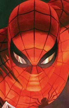 Amazing Spider-Man artwork by Alex Ross Comic Book Characters, Marvel Characters, Comic Books Art, Comic Art, Comics Spiderman, Marvel Dc Comics, Marvel Heroes, Alex Ross, Univers Marvel
