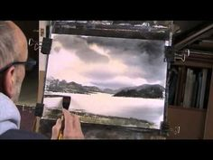 Lake District in Winter No 2  Watercolour - YouTube