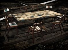 MADEINPECKHAM_hinckley-table-woodyard made from upcycled wood pallets