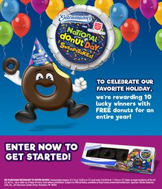 Entenmann's National Donut Day Sweepstakes