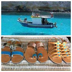 #greece#summer#holidays#sandals#sea#sun#sandalaki Sandalaki,handmade leather sandals Like us on facebook:@sandalaki Follow us on instagram:#sandalaki