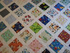 I-Spy Toddler Quilt by VillageQuilts on Etsy