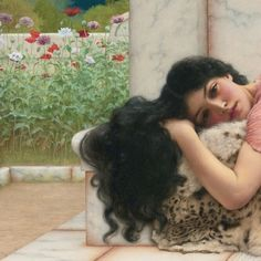 When The Heart is Young - John William Waterhouse