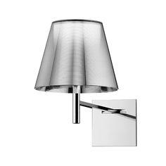 Aplique KTRIBE W, hecho en aluminio y disponible en diferentes acabados.