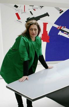 Zaha Hadid: Architecture and Fashion | http://www.designrulz.com/product-design/2011/04/zaha-hadid-dress-artwork/