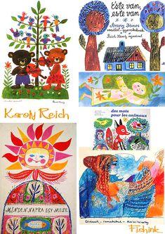 Karoly Reich, hungarian illustrator