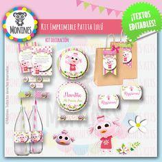 Birthday Chalkboard, 2nd Birthday, Ideas Para, Advent Calendar, Baby Shower, Christmas Ornaments, Holiday Decor, Party, Editable