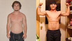 """BAM! Jacob D., one of the semi-finalists for the male Body by Vi Champion lost 25 lbs and got his http://SexyBackIn90.com/ - He says, """"After doing the Challenge for 90 days, I'm ripped! I feel amazing and look great... if I don't say so myself!"""""""