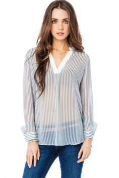Kenneth Blouse in Blue