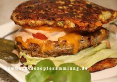 Imbalance in the health care system a. Protein Burger, Low Carb Burger, Low Carb Recipes, Vegetarian Recipes, Healthy Recipes, Healthy Foods, Zucchini Burger, Clean Eating, Healthy Eating