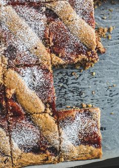 Recipe for a Linz cake or Linz cuts from the tin - Kuchen Rezepte 2020 Nacho Bar, Easy Cookie Recipes, Baking Recipes, Cake Recipes, Chili Bar, Chocolate Cake Recipe Easy, Cake & Co, Organic Matter, Brownie Bar