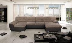 Robustná sedacia súprava VERATTI v dvoch farebných prevedeniach. Vybavená úložným priestorom a rozkladaním. Kvalitné pružinové sedenie Vám zabezpečí pohodlie Couch, Furniture, Home Decor, Living Rooms, Lounges, Settee, Decoration Home, Sofa, Room Decor
