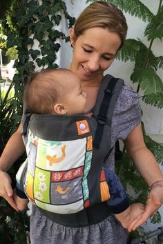 bare feet and a free spirit: re- covering a tula baby carrier