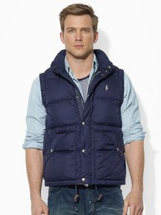 Elmwood Down Vest - Ralph Lauren.