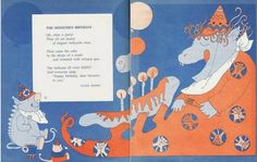"""Mixed-Up Monster Club: Vintage """"Monster Poems"""" With Illustrations By Kay Chorao…"""