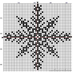 Snowflake Free Pattern for your Winter Decor Snowflake Free Pattern for your Winter Decor,Kreuzstich Snowflake cross stitch chart from Mary Corbet bags purses crafts stitches patterns stitch crochet crafts Xmas Cross Stitch, Counted Cross Stitch Patterns, Cross Stitch Charts, Cross Stitch Designs, Cross Stitching, Cross Stitch Embroidery, Cross Stitch Freebies, Tambour Embroidery, Knitting Charts