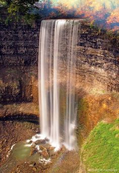 Beautiful waterfalls(Webster's Falls Hamilton) in Ontario, Canada Nova Scotia, Landscape Photos, Landscape Photography, Beautiful World, Beautiful Places, Ontario Travel, Les Cascades, All Nature, Nature Photography