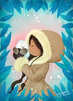 illustration jeunesse esquimaux