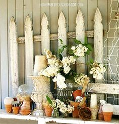 Don't Fence Me In: Using Garden Fences as Decor!
