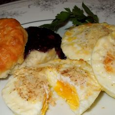 Baked French Eggs Recipe | Just A Pinch Recipes