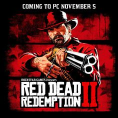 Rockstar Games® is proud to announce that Red Dead Redemption 2 is coming to PC on November with special bonuses available to players who pre-purchase through the Rockstar Games Launcher starting October Max Payne 3, Red Dead Redemption, San Andreas, Grand Theft Auto, Xbox One Games, Epic Games, Red Dead Online, Read Dead, Reds Game