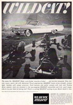 Original-Vintage-1963-BUICK-WILDCAT-CONVERTIBLE-AD-6-X-9