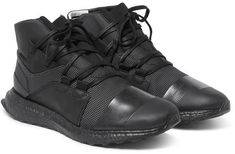 Y-3 Kozoko Rubber-Trimmed Mesh High-Top Sneakers. NK Collections 054847cbf
