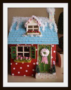 """alt=""""dollhouse christmas""""  by cinderellamoments, via Flickr"""