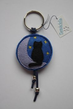 Etsy cat and moon