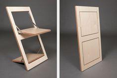 Folding chair Fläpps - Birch