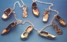 Miniature Shoes Jewelry from Luna Parc