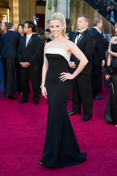 Reese Witherspoon- oscars2015 #redcarpet