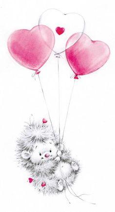 Leading Illustration & Publishing Agency based in London, New York & Marbella. Cute Animal Drawings, Cute Drawings, Cute Images, Cute Pictures, Blue Nose Friends, Love Hug, Tatty Teddy, Baby Art, Cute Illustration