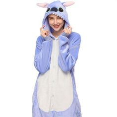 Winter Cartoon Animal Unicorn Pajamas Flannel Stitch panda pyjamas onesie women Hooded Adult Sleepwear For Women Licorne Femmes - Winter Cartoon Animal Unicorn Pajamas Flannel Stitch panda pyjamas onesie women Hooded Adult Sleepw - Panda Pyjamas, Adult Onesie Pajamas, Animal Pajamas, Girls Pajamas, Pijamas Onesie, Flannel Outfits, Flannel Fashion, One Piece Pajamas, One Piece Suit