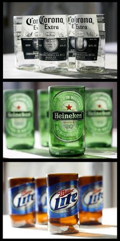 5 Easy Steps To Perfectly Cut Old Bottles For Those Great DIY Crafts! bottle crafts easy 5 Easy Steps To Perfectly Cut Old Bottles For Those Great DIY Crafts! Beer Bottle Crafts, Beer Crafts, Diy Crafts, Beer Bottle Cups, Beer Bottle Glasses, Beer Bottle Lights, Alcohol Bottle Crafts, Alcohol Glasses, Redneck Crafts