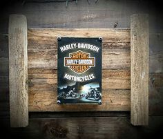 Check out this item in my Etsy shop https://www.etsy.com/au/listing/241298569/rustic-wall-art-featuring-harley