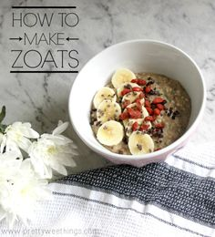 How to make zoats 1