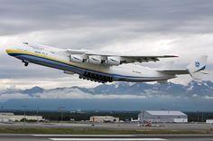 Beautiful monster. Antonov An-225 Mriya. USA - Alaska. By Kevin Scott.  pic.twitter.com/c5nKOQ7gXN