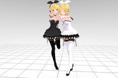 MMD Tda Rin Crasy Download !! by InoriAruma.deviantart.com on @deviantART