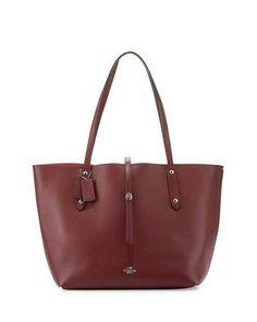 a5c565a90d66 V32TA Coach Market Leather Tote Bag